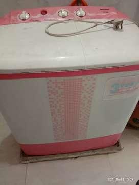 Semi automatic washing machine 6.5 kg