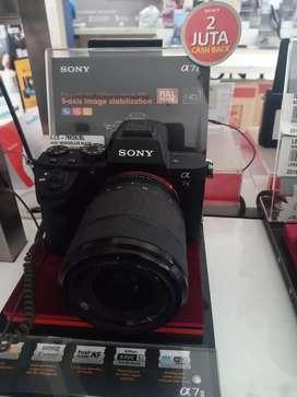 Promo cicilan free 1x Camera Sony A7II Kredit cepat dan mudah