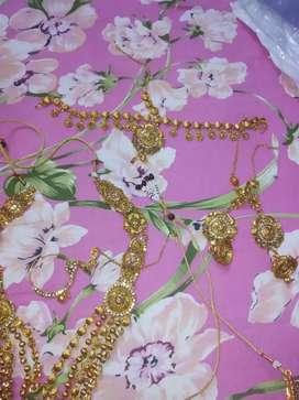 Bridal jewelry set on 2500 rels
