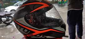Used helmet at good condition with new visor