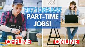 It's part time job for unemployed..!