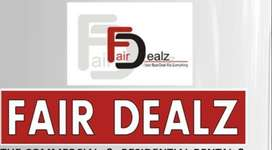 Semi furnished office in main commercial hub Ranjit Avenue