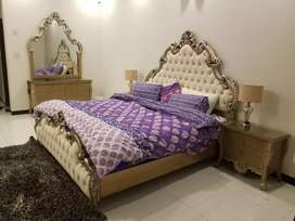 Only 1 month used Brand new Bed set