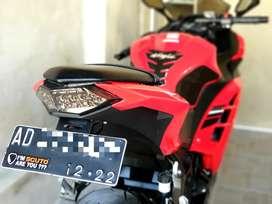 Kawasaki Ninja 250 Tahun 2017 warna Merah