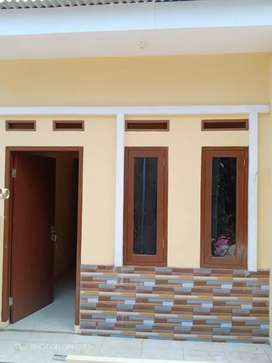 Rumah minimalis model kontrakan