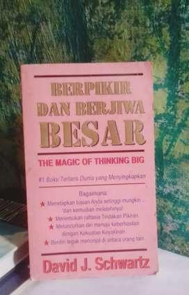 Buku psikologis THE MAGIC OF THINKING BIG karya David J.Shwartz