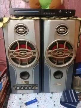 DVD dan salon speaker