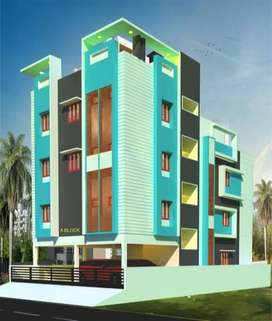 1bhk flat for sale in polichalur with lift near polichalur bus depot