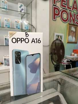 new OPPO A16 3/32Gb