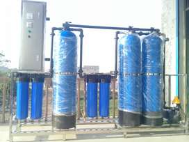 Drinking water filter plant with arsenic
