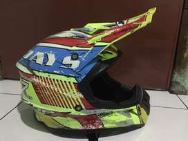 Helm cross JPX murah