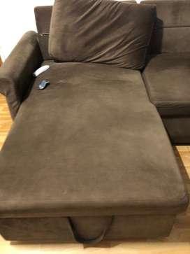 Sofa cum bed new condition