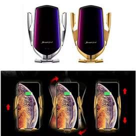 "R1 Smart Sensor Car Wireless Charger ""gold"""