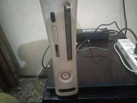 Xbox 360 with 34 games