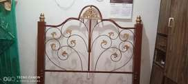 Steel double bed 100% un used