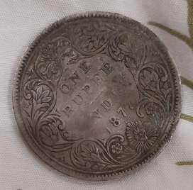 Antique coin 1877
