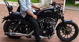 Harley davidson iron 883 doctor used prestine condition less kms done