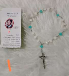 Kalung rosario model unik kalung doa katolik manik manik religi