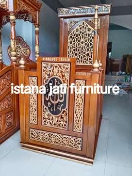 Mimbar masjid Tersedia Mimbar khutbah podiium minimalis modern