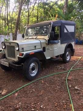 Mahindra major jeep  for sale 2005 , good condition
