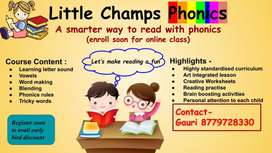 Little Champs Phonics classes