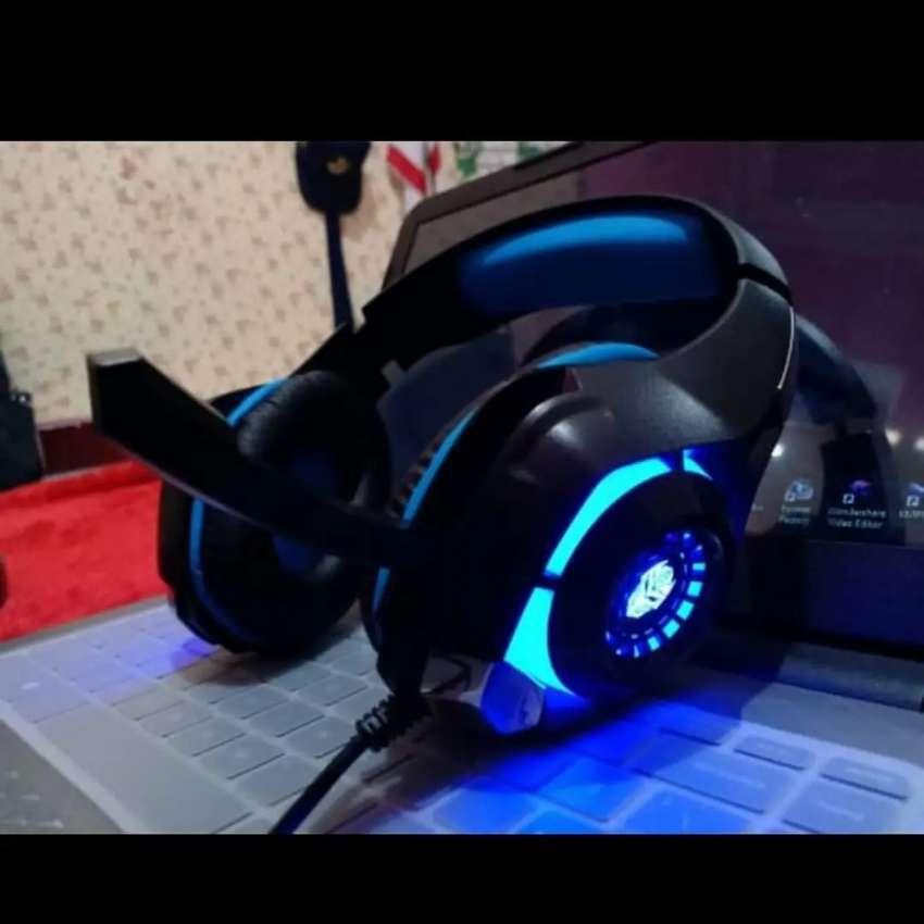 Headset Gaming Rexus Vonix F55 LED Untuk HP Laptop PC Jack 3.5mm