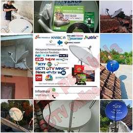 Pilihan paket pasang antena tv parabola free iuran balongpanggang