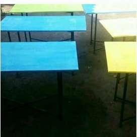 Meja lipat atau meja bazar