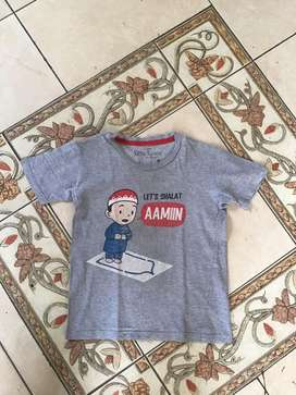 Kaos Anak merek Little Space 6T edisi Moslem