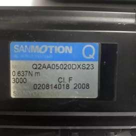 SANMOTION servo 0.63Nm, 3000rpm
