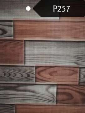 Pvc wall panels for seepage walls and interior design, various colours