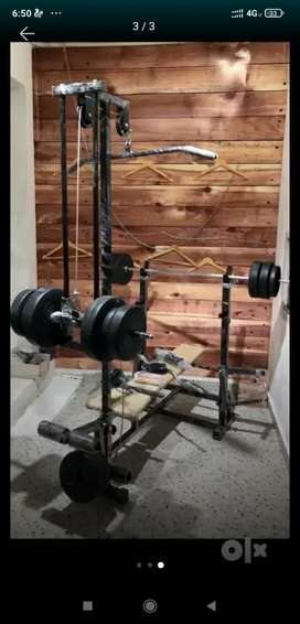 Gym 20 in 1 bench