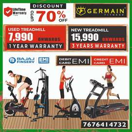 Motorised TREADMILLs 7,990 onward 1 YEAR WARRANTY 20 Models  different