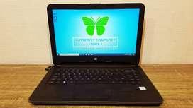 Laptop Desain Grafis HP 240-G5 RAM 4GB Core I3-6006U PES 17 Tested