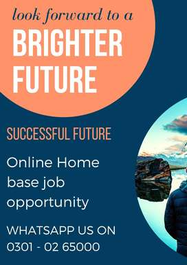 We are hiring intelligent person for Simple Typing online job at home