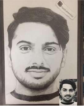 Portrait sketches in just 500₹