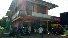 Home and commercial Shops, With Running General store and bekari,