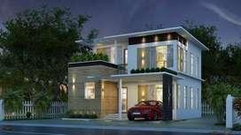 1100SqFt villas near ottapalam town