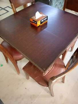 4 Seater dining table wooden