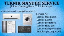 Service Ac, Mesin cuci, Frezerbox Kulkas, Bongkar pasang Ac