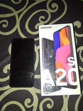 Menawi minat.. Monggo Samsung A20s kondisi masih bergaransi