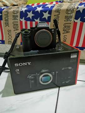 Sony a7 mark ii + fe 85mm f1.8