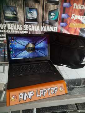 Laptop lenovo slim AMD A6 quadcore ram 4gb
