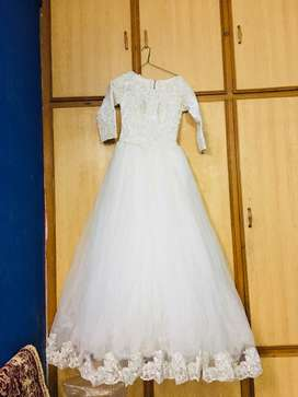 Wedding/ Engagement white gown