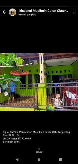 Jual Rumah di Tigaraksa Kab. Tangerang
