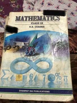 Mathematics rd sharma class 9