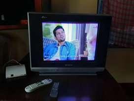 TV with Videocon d2h set