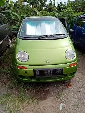 Daewoo matiz aka chevrolet spark 2001 hijau