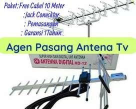 Jual Berikut Instalasi Pasang Baru Antena Tv Pf Digital.