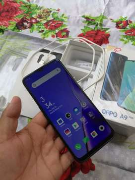 Oppo A9 2020 mobile phone All Accessories complete box